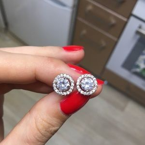 Jewelry - Cubic Zirconia Stud Earrings